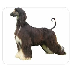Afghan Hound Full Double Sided Flano Blanket (Small)