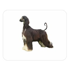Afghan Hound Full Double Sided Flano Blanket (Large)