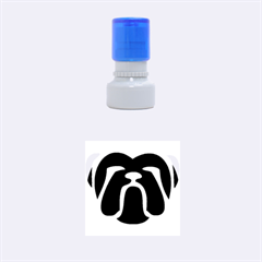 Bulldog Tribal Rubber Round Stamps (Small)