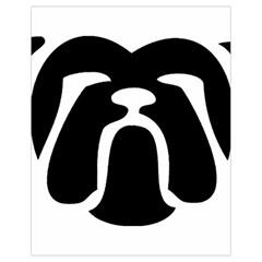 Bulldog Tribal Drawstring Bag (Small)