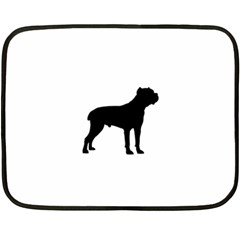 Cane Corso Silo Black Fleece Blanket (mini)