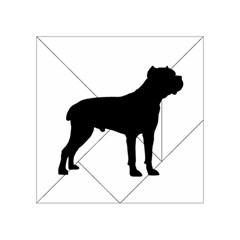 Cane Corso Silo Black Acrylic Tangram Puzzle (4  x 4 )