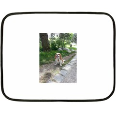 Cav Sitting Fleece Blanket (Mini)