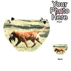 Chesapeake Bay Retriever Retrieving Playing Cards 54 (Heart)