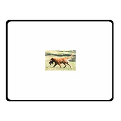 Chesapeake Bay Retriever Retrieving Fleece Blanket (Small)