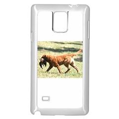 Chesapeake Bay Retriever Retrieving Samsung Galaxy Note 4 Case (White)