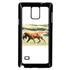 Chesapeake Bay Retriever Retrieving Samsung Galaxy Note 4 Case (Black)