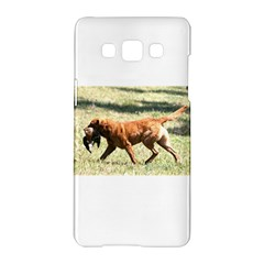 Chesapeake Bay Retriever Retrieving Samsung Galaxy A5 Hardshell Case