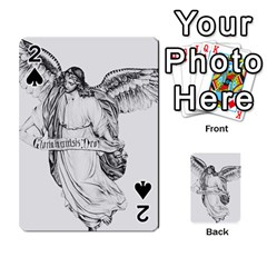 Angel Drawing Playing Cards 54 Designs