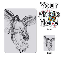 Angel Drawing Multi-purpose Cards (Rectangle)