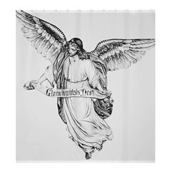 Angel Drawing Shower Curtain 66  x 72  (Large)