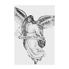 Angel Drawing Shower Curtain 48  x 72  (Small)