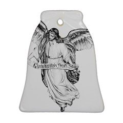 Angel Drawing Bell Ornament (2 Sides)