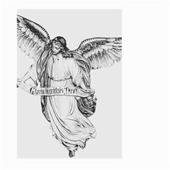 Angel Drawing Large Garden Flag (Two Sides)
