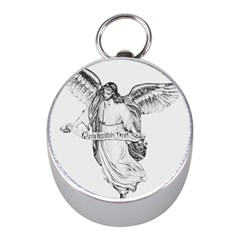 Angel Drawing Mini Silver Compasses