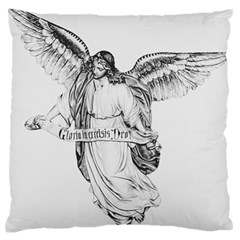 Angel Drawing Standard Flano Cushion Cases (One Side)