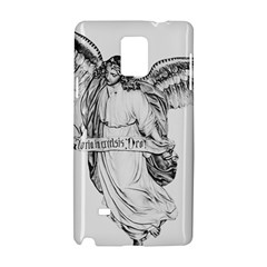 Angel Drawing Samsung Galaxy Note 4 Hardshell Case