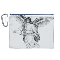 Angel Drawing Canvas Cosmetic Bag (XL)