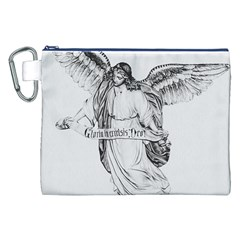 Angel Drawing Canvas Cosmetic Bag (XXL)