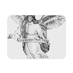 Angel Drawing Double Sided Flano Blanket (Mini)