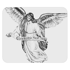 Angel Drawing Double Sided Flano Blanket (Small)