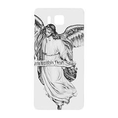 Angel Drawing Samsung Galaxy Alpha Hardshell Back Case