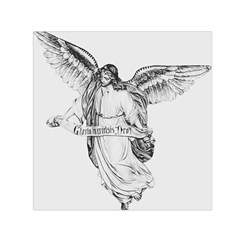 Angel Drawing Small Satin Scarf (Square)