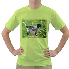 Black Roan English Cocker Spaniel Full 2 Green T-Shirt