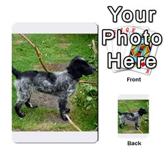 Black Roan English Cocker Spaniel Full 2 Multi-purpose Cards (Rectangle)