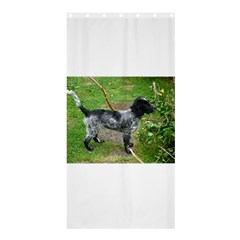 Black Roan English Cocker Spaniel Full 2 Shower Curtain 36  x 72  (Stall)