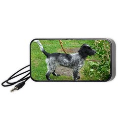 Black Roan English Cocker Spaniel Full 2 Portable Speaker (Black)