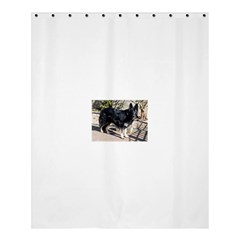 Black German Shepherd Full Shower Curtain 60  x 72  (Medium)