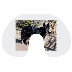 Black German Shepherd Full Travel Neck Pillows
