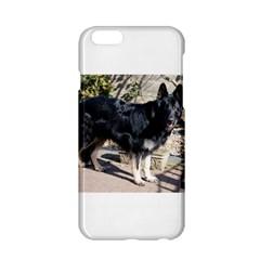 Black German Shepherd Full Apple iPhone 6 Hardshell Case