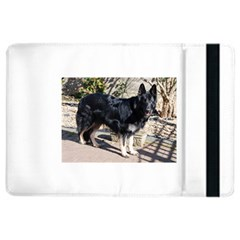 Black German Shepherd Full iPad Air 2 Flip