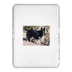 Black German Shepherd Full Samsung Galaxy Tab 4 (10.1 ) Hardshell Case