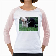 2 Labs Girly Raglans
