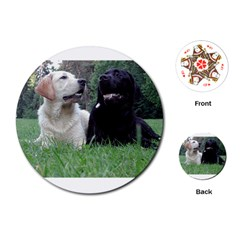 2 Labs Playing Cards (Round)