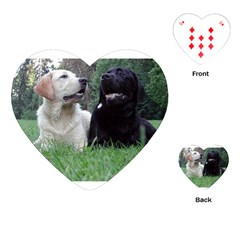 2 Labs Playing Cards (Heart)