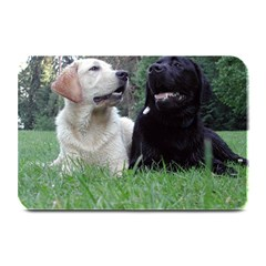2 Labs Plate Mats