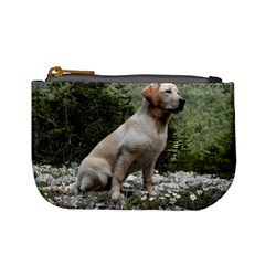 Yellow Lab Sitting Mini Coin Purses