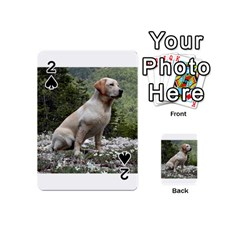 Yellow Lab Sitting Playing Cards 54 (Mini)