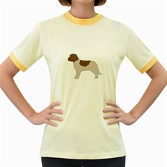 Lagotto Romagnolo Silo Color Women s Fitted Ringer T-Shirts