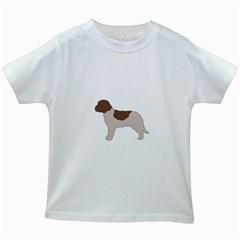 Lagotto Romagnolo Silo Color Kids White T-Shirts