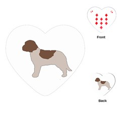 Lagotto Romagnolo Silo Color Playing Cards (Heart)