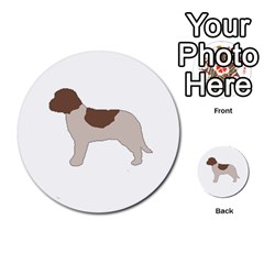Lagotto Romagnolo Silo Color Multi-purpose Cards (Round)