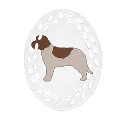 Lagotto Romagnolo Silo Color Ornament (Oval Filigree)