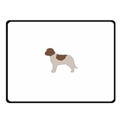 Lagotto Romagnolo Silo Color Double Sided Fleece Blanket (Small)