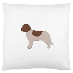 Lagotto Romagnolo Silo Color Large Flano Cushion Cases (Two Sides)