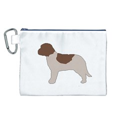 Lagotto Romagnolo Silo Color Canvas Cosmetic Bag (L)
